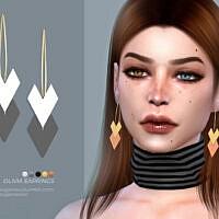 Olivia Earrings By Sugar Owl