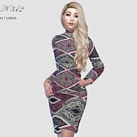 Dress N 343 By Pizazz