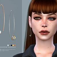 Aquamarine Earrings By Sugar Owl