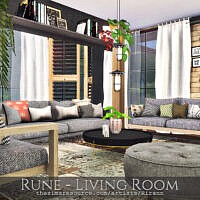 Rune Living Room By Rirann