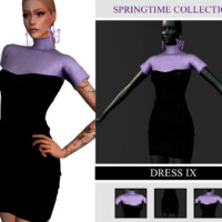 Springtime Collection Dress Ix By Viy Sims