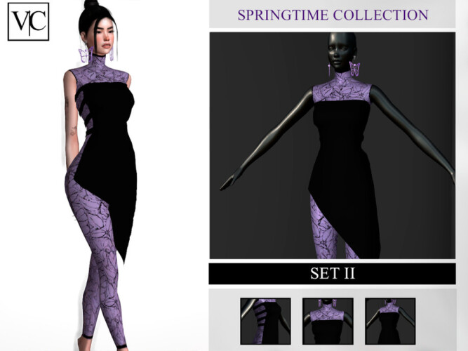 Springtime Collection Set Ii By Viy Sims