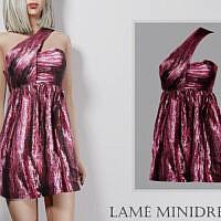 Lame Minidress By Turksimmer