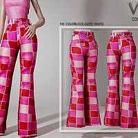 Colorblock Outfit (pants) P40 By Busra-tr