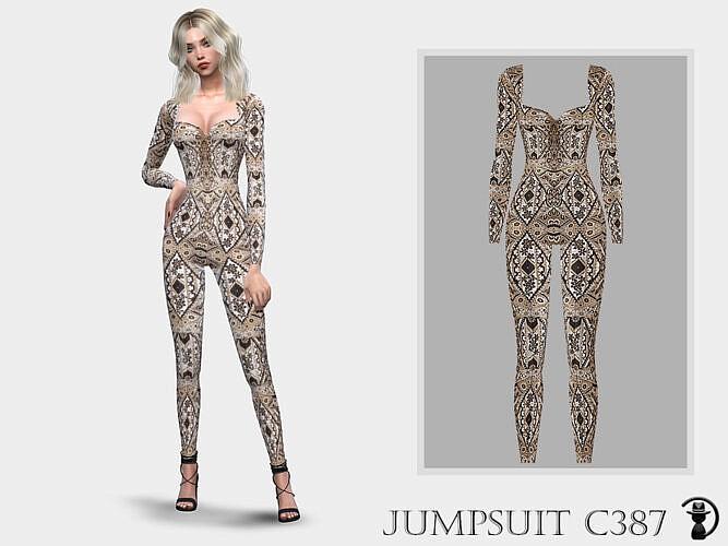 Jumpsuit C387 By Turksimmer