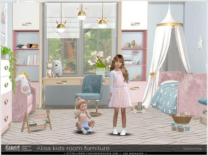 Alisa Kidsroom Furniture By Severinka