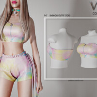 Rainbow Outfit (top) P47 By Busra-tr