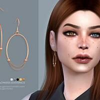Dagmara Earrings By Sugar Owl