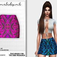 Mini Skirt Mc187 By Mermaladesimtr