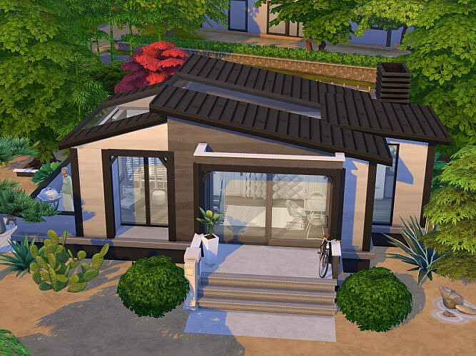 Tiny Modern Bungalow By Flubs79