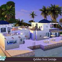 Golden Sun Lounge By Evi