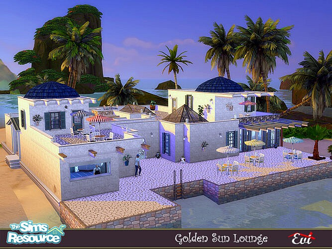 Golden Sun Lounge By Evi