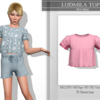 Ludmila Top By Katpurpura
