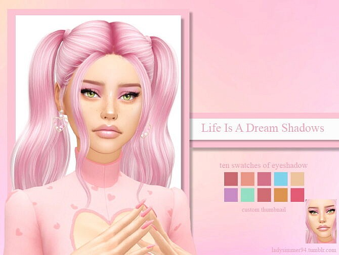 Sims 4 Life Is A Dream Shadows by LadySimmer94 at TSR