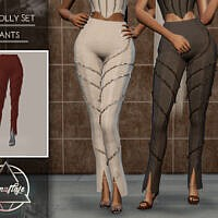 Oh Polly Set (pants) By Camuflaje