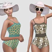 Swimsuit N 108 By Pizazz