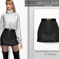 Siriana Skirt By Katpurpura