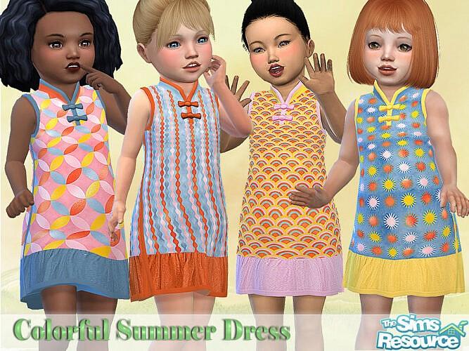 Colorful Summer Dresses By Pelineldis