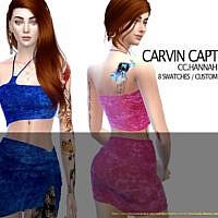Hannah Top Set By Carvin Captoor