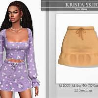 Krista Skirt By Katpurpura