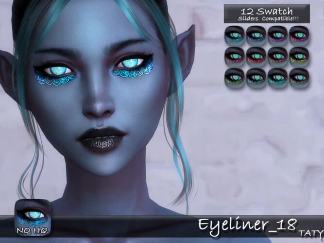 Eyeliner 18 Tatygagg