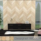 Tx Designer Wood Wall By Theeaax