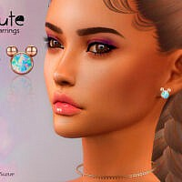 Cute Earrings By Suzue