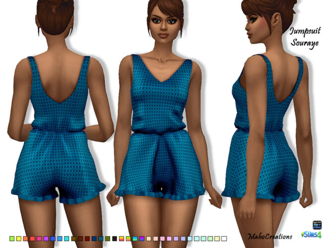 Jumpsuit Souraye By Mahocreations