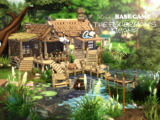 The Fisherman's Swamp By Virtualfairytales