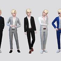 Bastian Boys Suit By Mclaynesims