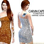 Nuela Glitter Dress By Carvin Captoor