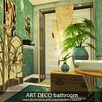 Art Deco Bathroom By Dasie2