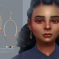 Dagmara Earrings Kids Version By Sugar Owl