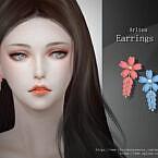 Flower Earrings 2 By Arltos