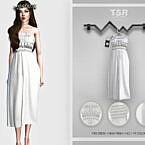 Midi Dress Bd457 By Busra-tr