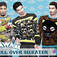 Kawaii Pullover 2 By Simmiev