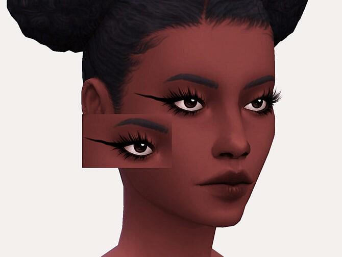 Sims 4 Sue Eyeliner by Sagittariah at TSR