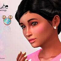 Cute Child Earrings By Suzue