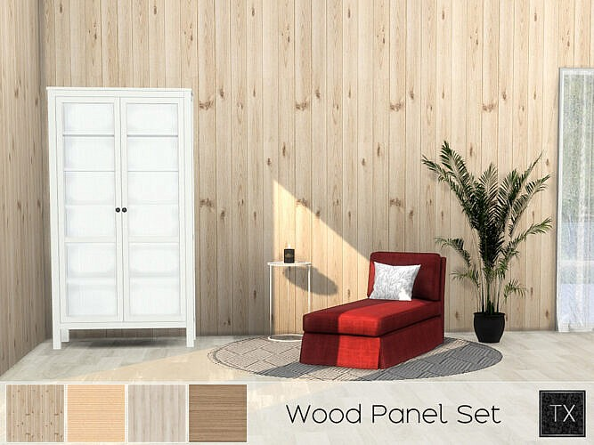 Wood Panel Set By Theeaax
