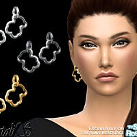 Teddy Bear Earrings By Natalis