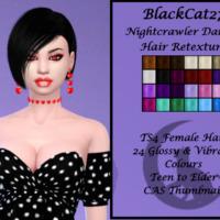 Nightcrawler Danger Hair Retexture By Blackcat27
