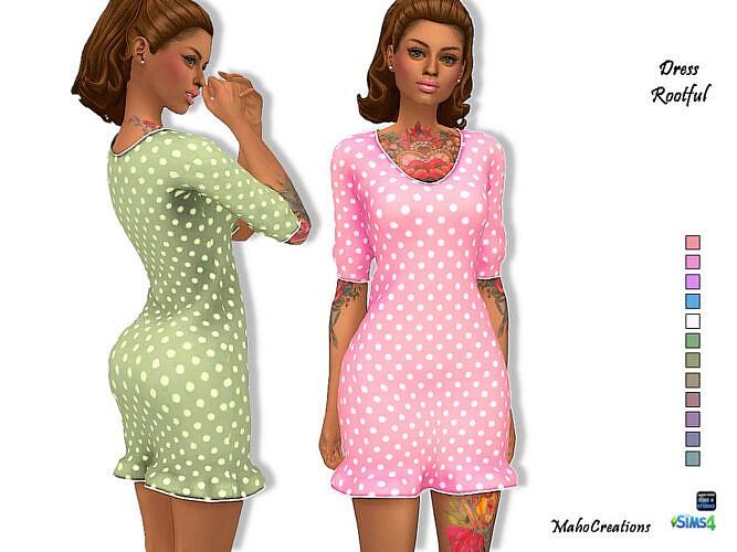 Dress Rootful By Mahocreations