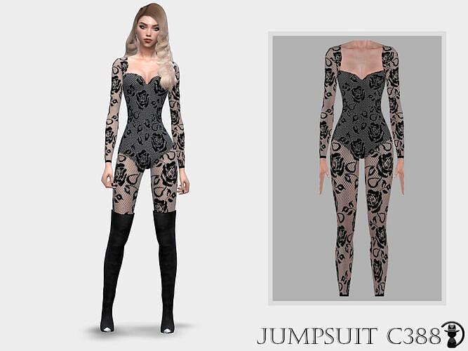 Jumpsuit C388 By Turksimmer