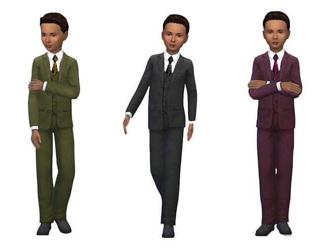 Keycamz Boy's Suit 0423 By Erinaok