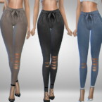 Belted Pants By Puresim