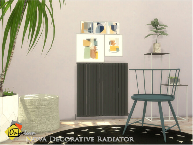 Nova Decorative Radiator By Onyxium