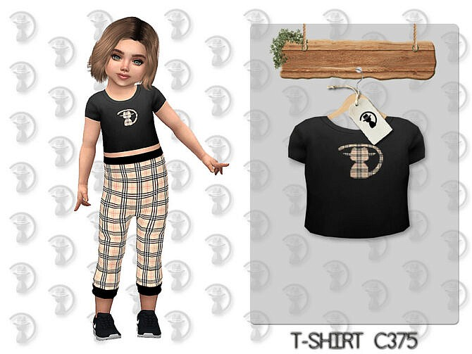 Sims 4 T shirt C375 by turksimmer at TSR