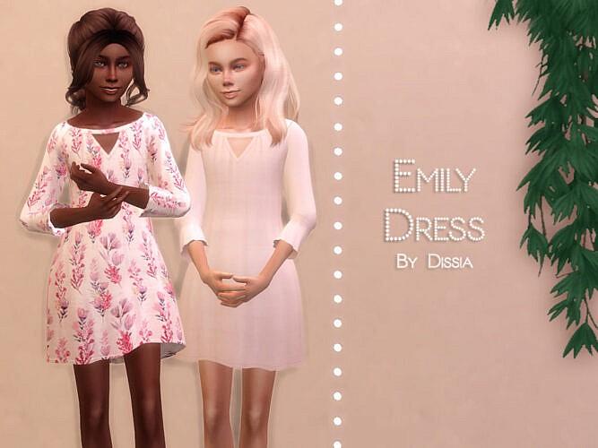 Emily Dress Kids By Dissia