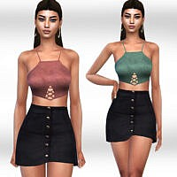 Skirt Outfit By Saliwa