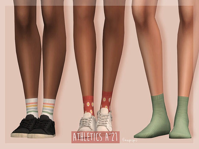 Sims 4 Socks AC412 by laupipi at TSR
